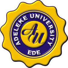 Adeleke University Admission List