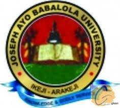 Joseph Ayo Babalola University Admission List