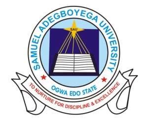 Samuel AdegboyegaUniversity Admission List