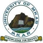 University of Mkar admission list
